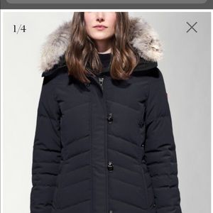 Canada goose 'Lorette' size S navy great condition